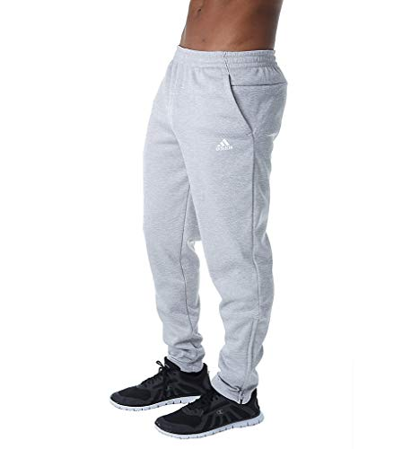 adidas Athletics Team Issue Fleece Slim Pant, Grey Two Melange, XX-Large