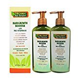 Hair Growth Booster Anti-Aging Serum B5-Vitamin Treatment (2 Pack) 6 oz - Non Sulfate Formula - for Color Treated Hair - Premium Thinning Solution - Growth for Men & Women | Organic Hair Energizer