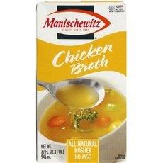 Manischewitz Chicken Broth, 14-Ounce Cans (Pack of 12) ()