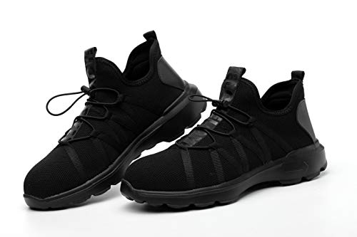 Summer Breathable Men Safety Shoes Steel Toe Work Safety Boots For Men Wear-resisting Fashion Safety Work Shoes by AiKim (Image #7)