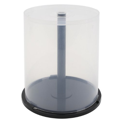 12 PC OF EMPTY CD DVD Blu-ray Disc CAKE BOX Spindle -100 Disc Capacity