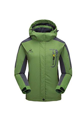 KISCHERS Waterproof Jacket Women's Raincoat, Ladies Rain Jacket, Softshell Jackets Outdoor Sportwear Rain Coats