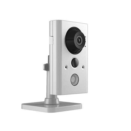 2MP Wireless Cube Camera - Security IP PoE WiFi IR Night Vision 4mm Lens Compatible with Hikvision WiFi Cube Camera.