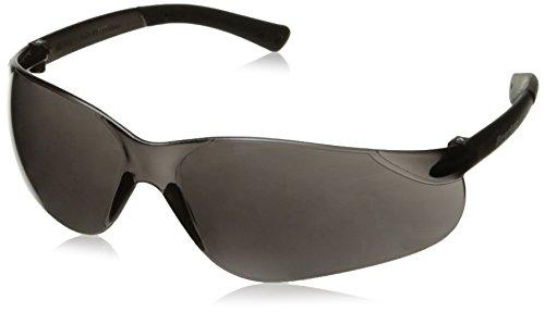 Crews BK112AF Bearkat Safety Glasses, Grey Lens Anti-Fog, 1 Pair ()