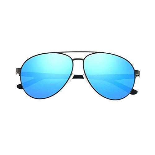 Sol de de C5 Gafas Anti Fatiga de Metal UV Espejo Cómodo Anti Película Color Vintage Claro Controlador polarizadas C2 Marco Color 5YqfqR4v