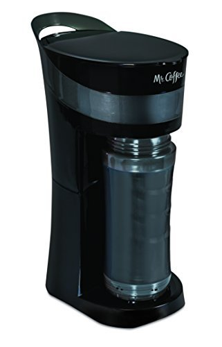 Mr. Coffee Pour! Brew! Go! Personal Coffee Maker, Midnight B