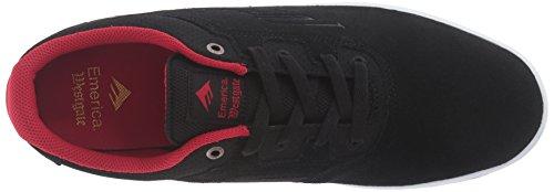 CC Red Emerica Herren Westgate Black Skateboardschuhe 8xqcc4T5wH