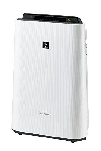 シャープ加湿空気清浄機プラズマクラスター搭載ホワイトKC-E50-W