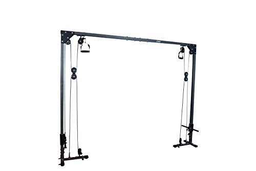 Akonza Cable Cross Over Chest Machine Hight Low Pulley Dual Pulley System Olympic Standard Plated Loaded Lat Gym Home