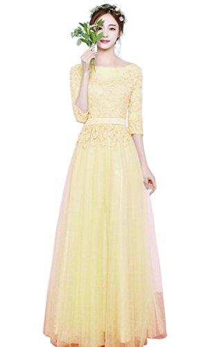 beautiful yellow quinceanera dresses - 6