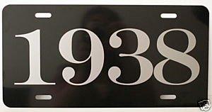 Amazon Com 1938 Year License Plate Automotive