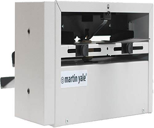 - Martin Yale SP100 Score and Perforating Machine, 23 Sheets Per Minute, Will Score or Perforate Sheets From 24lbs Bond to 100lbs Cover Stock, Fully Adjustable Paper Guides