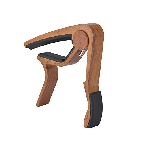 Guitar Capo, Yezijin Single-Handed Guitar Capo Quick Change Key Clamp Trigger f Electric/Classic/Folk (C)