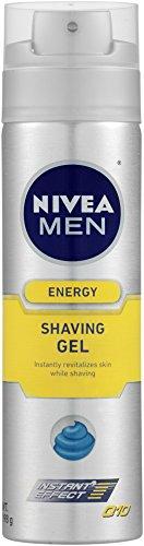 Nivea for Men Q10 Energy Gel de Rasage, bouteilles 7 onces (Pack de 3)