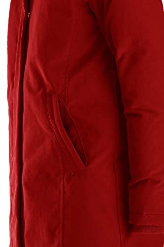 Red Pelliccia In Con Parka Inserti Imbottito Bomboogie Chili 7Bwqx0S