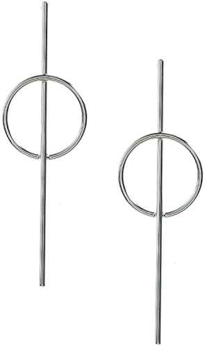 TRENDY FASHION JEWELRY ELONGATED BAR PENDANT RING EARRINGS BY FASHION DESTINATION
