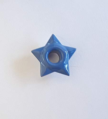 Eyelets Card Scrapbooking (50 piece Morning Glory Blue Purple Star 1/8