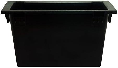 Feeldo 1DIN Autoradio st/ér/éo radio Refitting Tableau de bord dinstallation de fixation Garniture Fa/çade dautoradio Console Bo/îte de rangement Spacer Pour Mazda