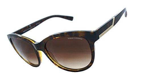 Armani Exchange Ax4051s 100% Authentic Women's Sunglasses Havana - Sunglasses Armani Sale