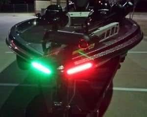 Boat Bow LED Lighting RED & Green Kit