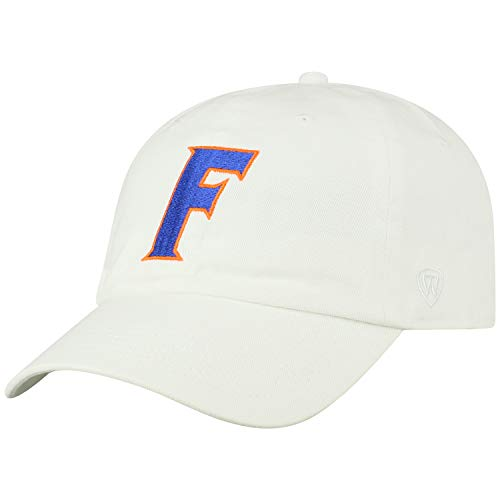 Top of the World Florida Gators Men's Hat Icon, White, Adjustable