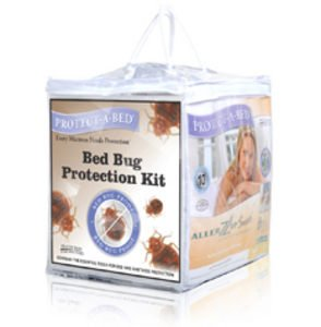 Protect-A-Bed Ultimate/Bed Bug Protection Kit - Allerzip Waterproof Bed Bug