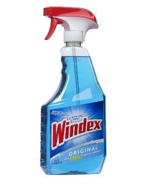 Windex Original Glass Cleaner Set: 1.32 Gallons Refill + 32 Fl.oz. Trigger Spray by SC Johnson (Image #2)