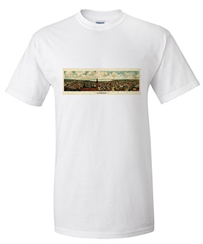milwaukee-wisconsin-1898-panoramic-map-white-t-shirt-xx-large