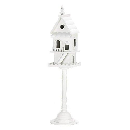 House Pedestal (Koehler Home Decor Two Floor Story Pedestal Birdhouse)