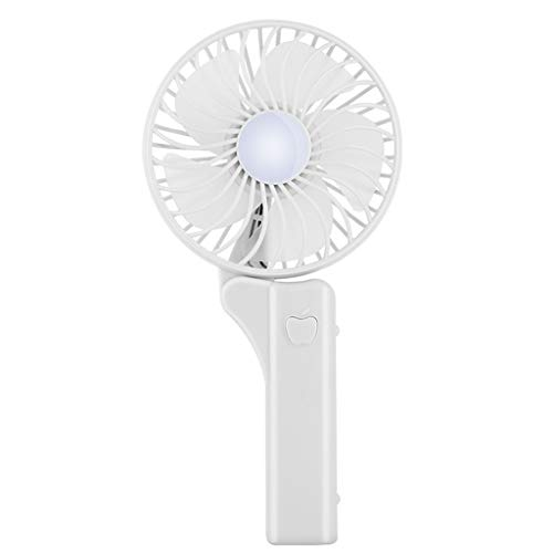 Minipoco Mini Handheld Spray Fan, 2-in-1 Portable Rechargeable USB Mini Fan with Personalized Cooling Humidifier, Water Spray Fan, Folding Design