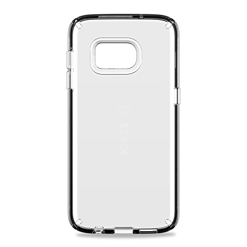 Speck Products Samsung Galaxy S7 Case, CandyShell Clear Case, Military-Grade Protective Case (Hard Speck Candyshell Case)