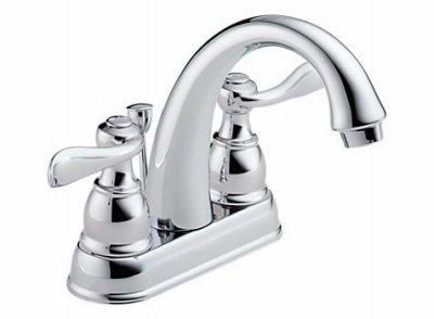 Chrome Lavatory Faucet 2h (Lav Faucet 2h Chrm W/Pu)