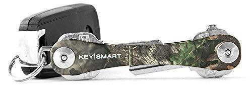 KeySmart - Compact Key Holder and Keychain Organizer (up to 14 Keys, Mossy Oak)