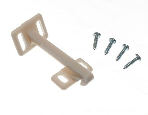 CHILD PROOF CUPBOARD DOOR SAFETY CATCH WITH SCREWS ( sets ) by ONESTOPDIY.COM
