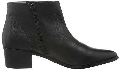 Buffalo Damen 415-2364 Indios Leather Kurzschaft Stiefel Schwarz (Black 01)