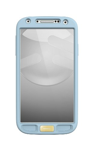 (SwitchEasy  Colors Silicone Case for Samsung Galaxy S4 - Retail Packaging - Baby Blue)
