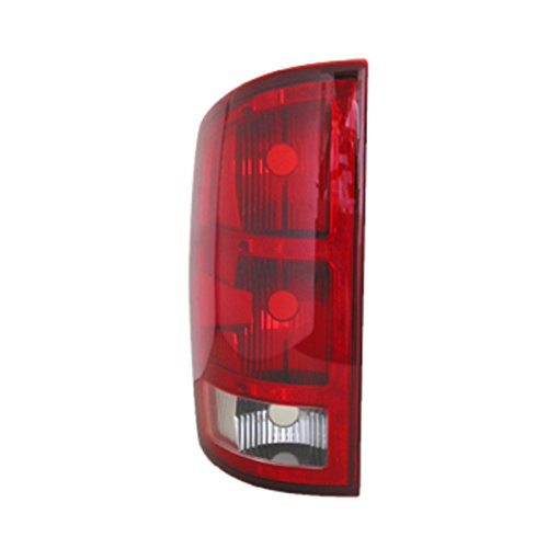 TYC 11-5702-01 Dodge Ram Pickup Driver Side Replacement Tail Light Assembly
