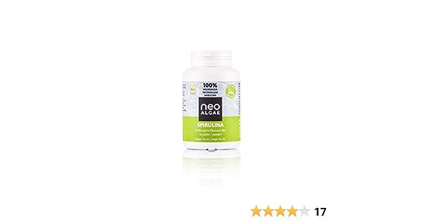 Spirulina Orgánica En Polvo 100 gramos | Apto Para Veganos | 100% natural, sin aditivos | Neospirulina