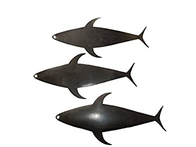 """EAT MY TACKLE Tuna Mud Flap 20"""" Dredge Component Fishing Teaser 3 pieces"""