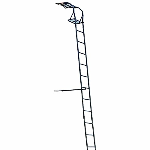 Big Game The Warrior Ladder Stand, Black