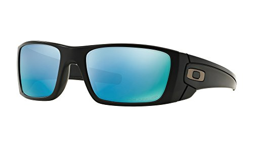 Oakley Fuel Cell Sunglasses Matte Black with Prizm Deep H2O Polarized - Black Fuel Oakley Sunglasses Cell