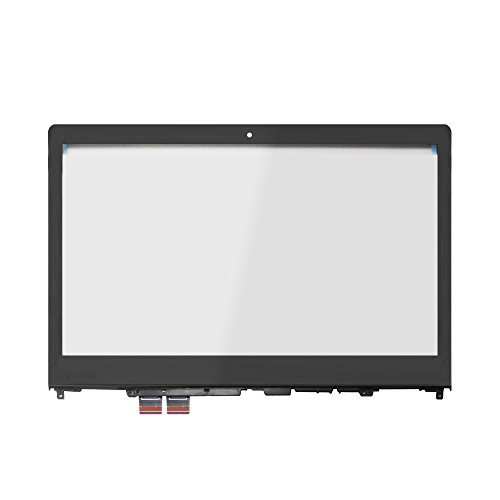 - LCDOLED Replacement 14.0 inches Touch Screen Digitizer Front Glass Panel with Bezel for Lenovo Flex 4-14 4-1470 4-1480 80SA 80VD 80S7 (Touch Digitizer + Bezel)
