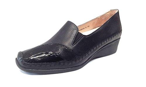 Pantofola Luxe Da Donna Di Lusso, Nero Nero