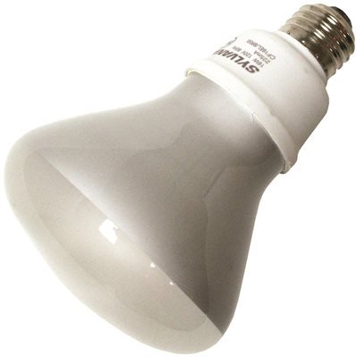 (OSRAM SYLVANIA Dulux El Compact Fluorescent Flood Lamp, Br30, 16 Watts, 2700K, 82 CRI, Medium Base, 120 Volts, 6 Per Case-2491918)