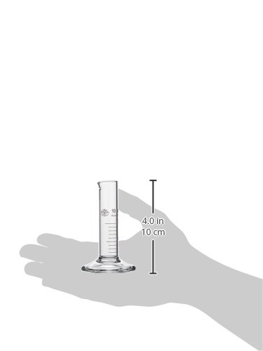 coktail de pied 1275//éprouvette gradu/ée 10/ml forme basse neolab E Lot de 2 6/pans de classe B