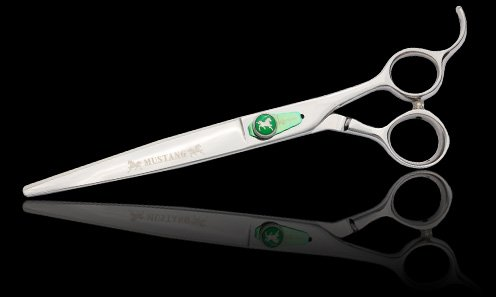 Kenchii Mustang 7.5 inch Curved Grooming Shears