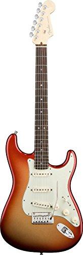 Fender American Deluxe Stratocaster, Rosewood Fretboard - Sunset Metallic