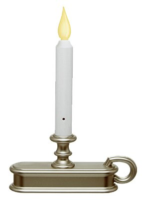 Xodus Innovations FPC1225P Battery Operated LED Sensor Window Candle - Quantity 18 by Xodus
