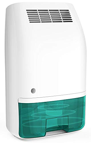 Afloia Electric Home Dehumidifier, Portable Dehumidifier for Home Bedroom 700ml 24fl.oz Capacity up to 215 sq ft
