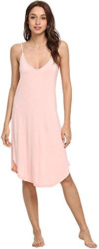(NEIWAI Womens Full Slip Spaghetti Strap Chemise Nightgown Cami Dress Pink L )